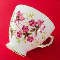 Crown Royal - Pink Floral | Cup, Saucer and Plate Trio  x  2